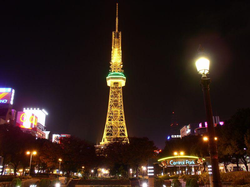 テレビ塔前~久屋大通公園