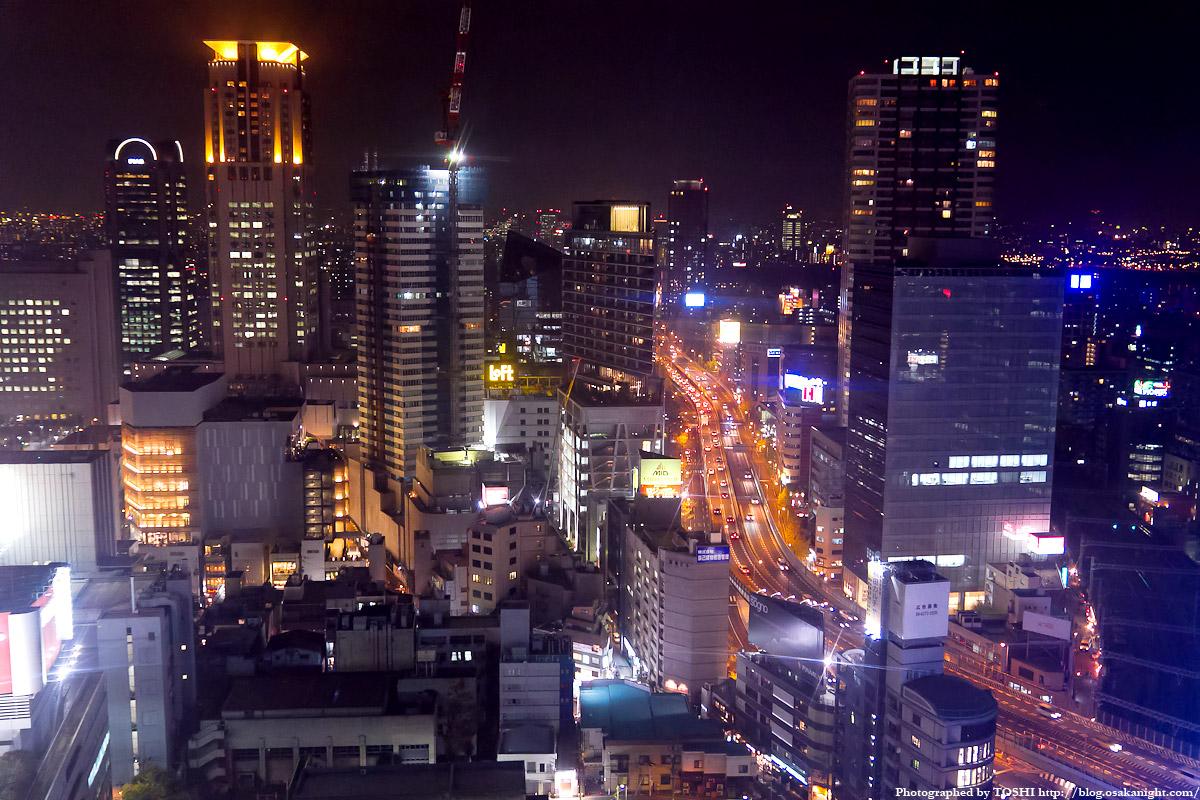 HEP FIVE 観覧車 大阪の夜景