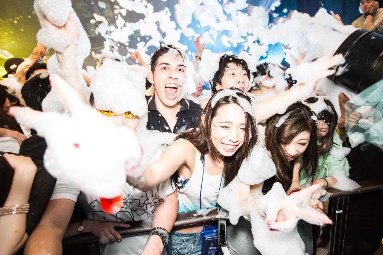 泡パーティー