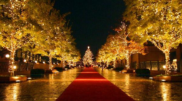 クリスマスの恵比寿ガーデンプレイス