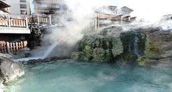 草津国際スキー場 温泉