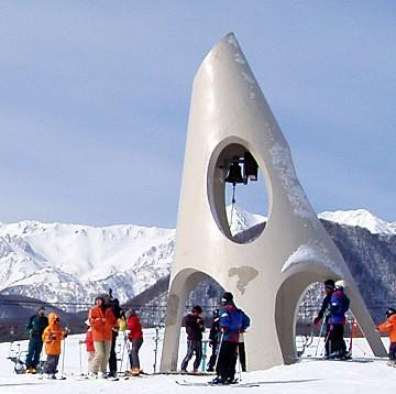 白馬  栂池高原スキー場
