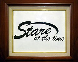 Stare at the timeショットバー