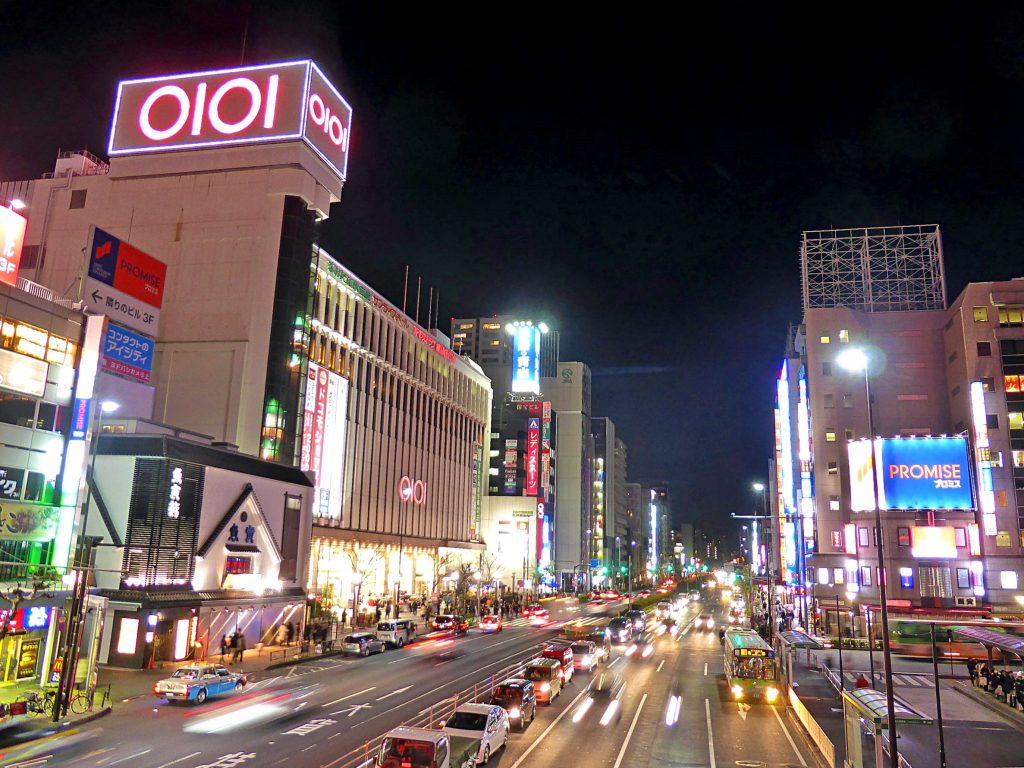 夜の錦糸町