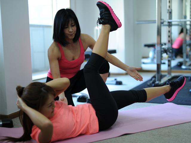 トレーニング 女子