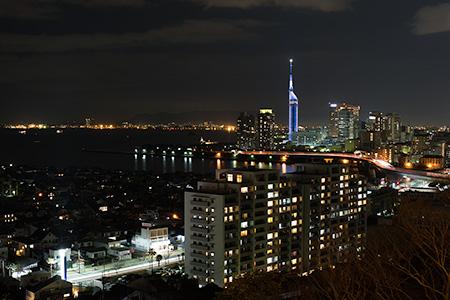 愛宕神社 夜景