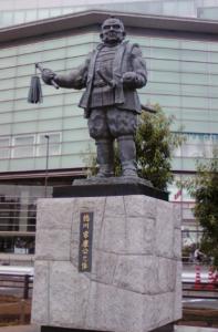 静岡駅 家康像