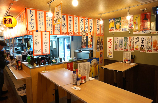 立呑み晩杯屋飯田橋東口店
