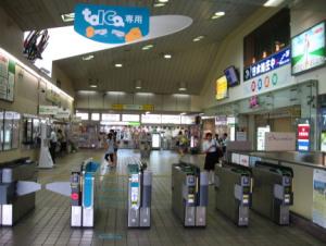 JR大垣駅改札