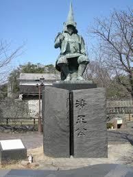 加藤清正公銅像前