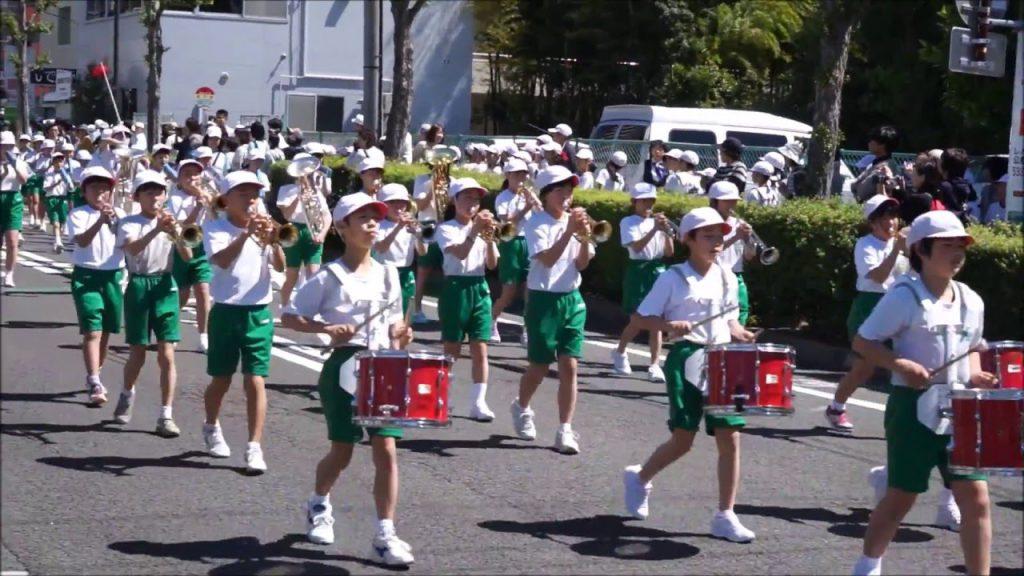 鼓笛隊パレード