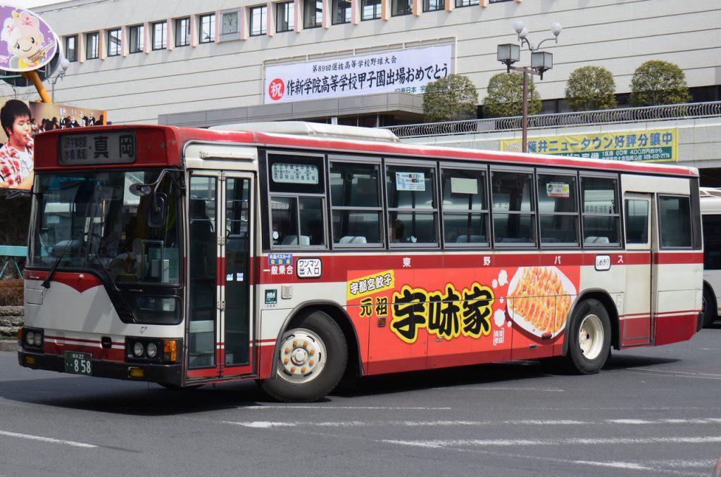 東野交通のバス