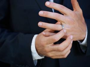 結婚指輪 男性
