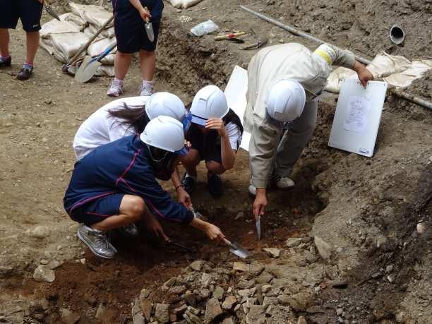 埋蔵文化財発掘調査