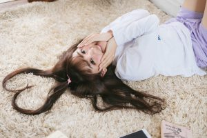 ハートの髪の毛