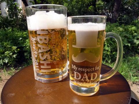 ビールジョッキ(名入れ)