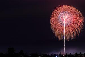 大きな花火