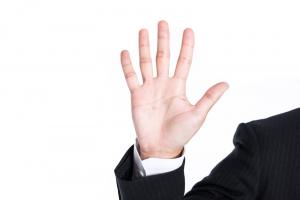 5本指の手