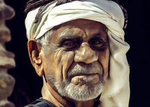 アラブ人の男性