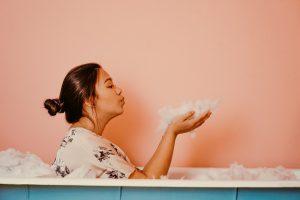 お風呂の泡