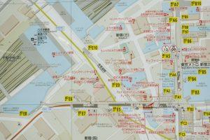 新宿三丁目駅周辺のMAP