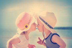 子供のキス