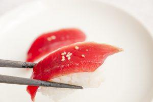 まぐろ、寿司